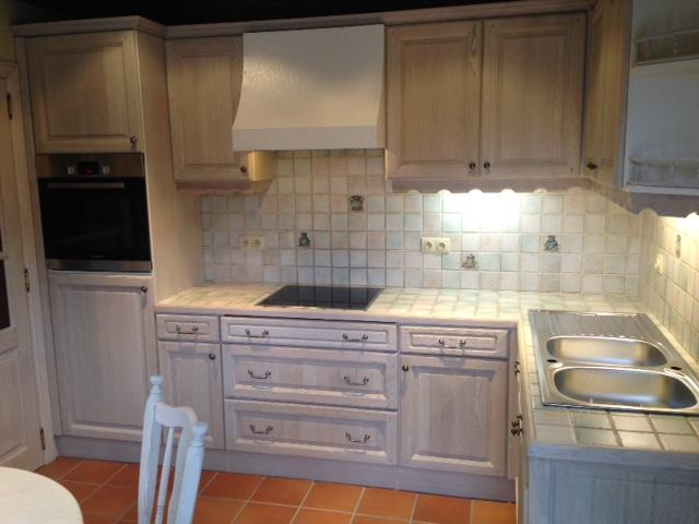 Eiken Keuken Zandstralen : eiken keuken renoveren