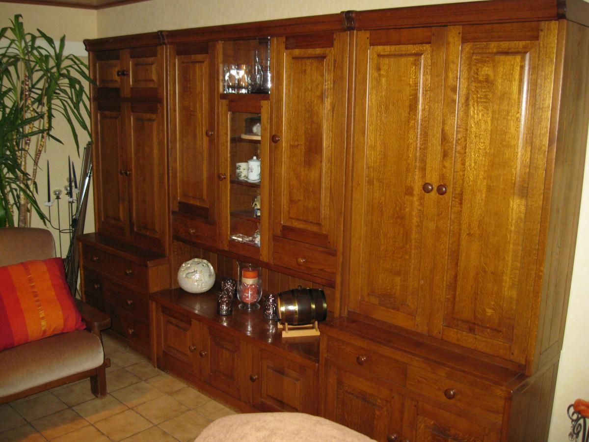 r novation sablage lasurage et vernissage d un meuble mural en ch ne meubelrenovatie. Black Bedroom Furniture Sets. Home Design Ideas
