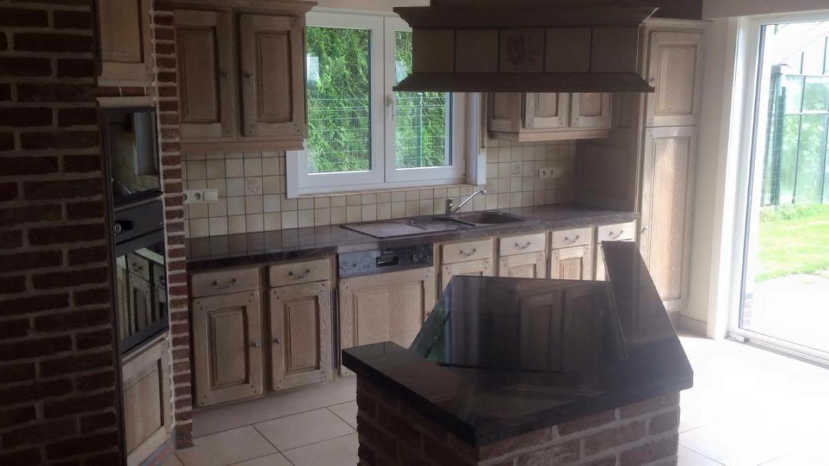 Keuken Renoveren Zandstralen : keuken zandstralen Aalst