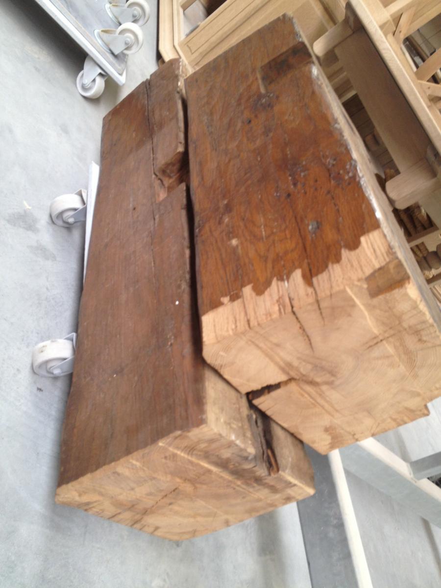 Eiken Keuken Behandelen : Zandstralen plafond of eiken balken Meubelrenovatie