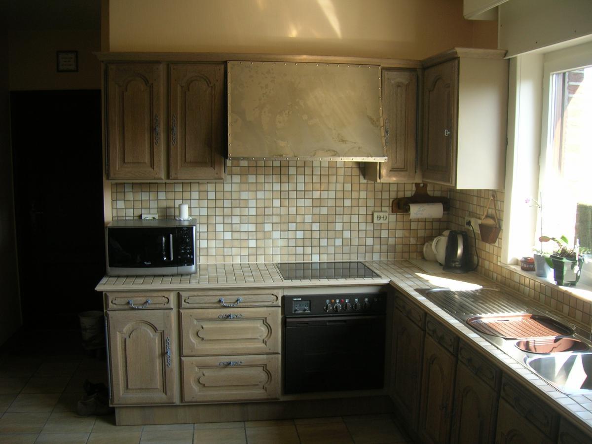 Eiken Keuken Zandstralen : een eiken keuken duurt ongeveer een week. De losse delen van de keuken