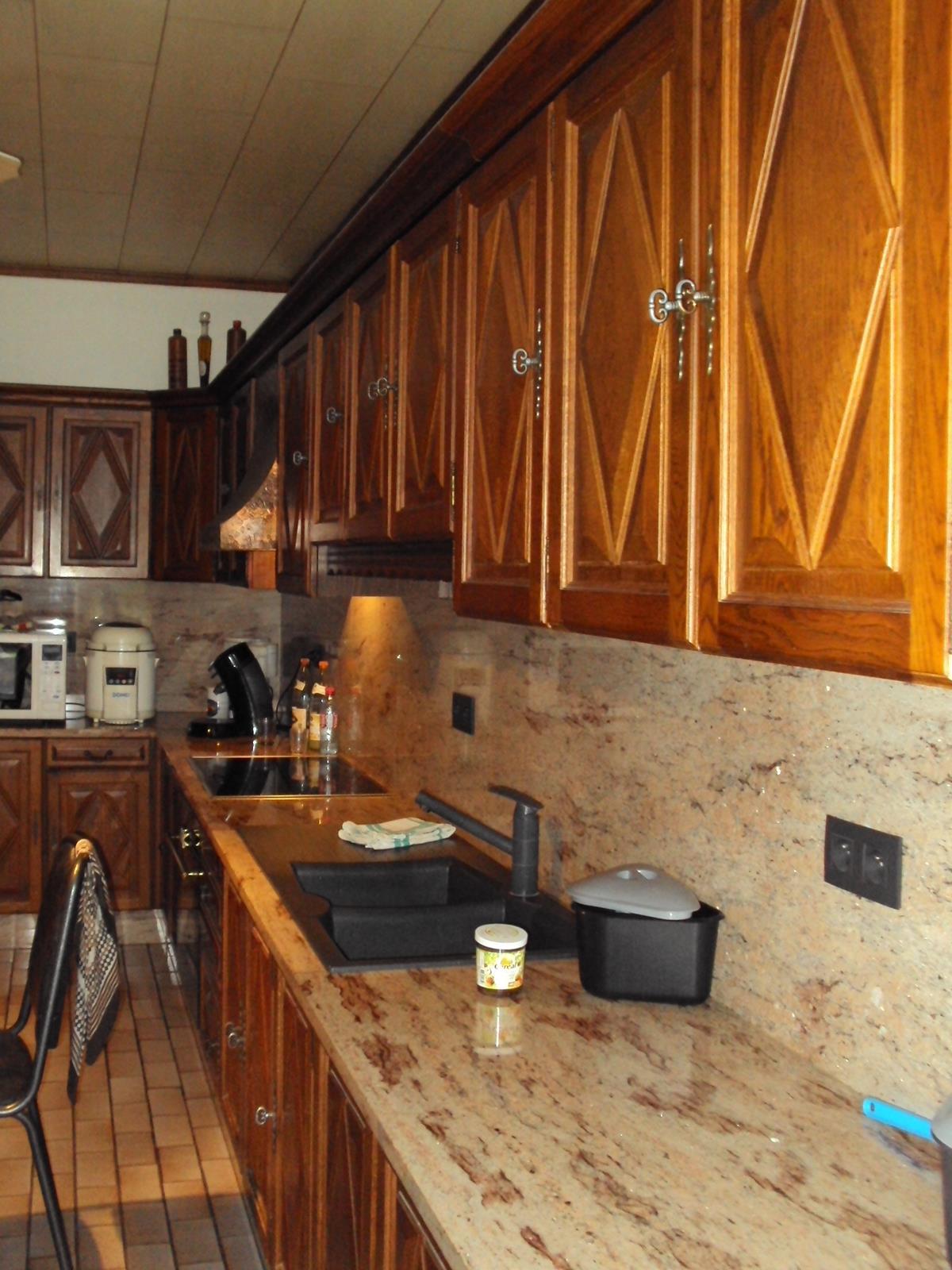 Eiken Keuken Renovatie : Renovatie eiken keuken Wervik Meubelrenovatie