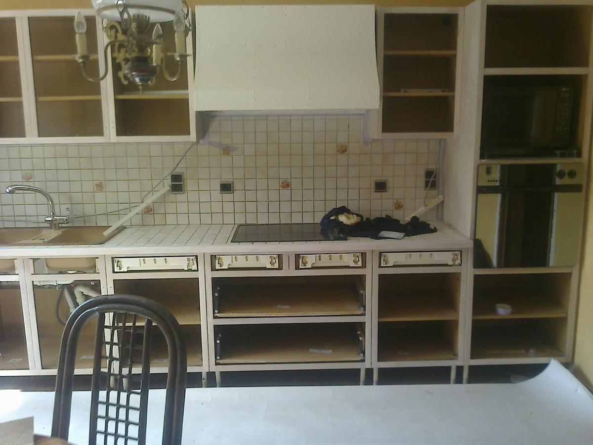 Keuken Fineer Verven : in Leuven heeft meubelrenovatie.be uit Avelgem de keuken