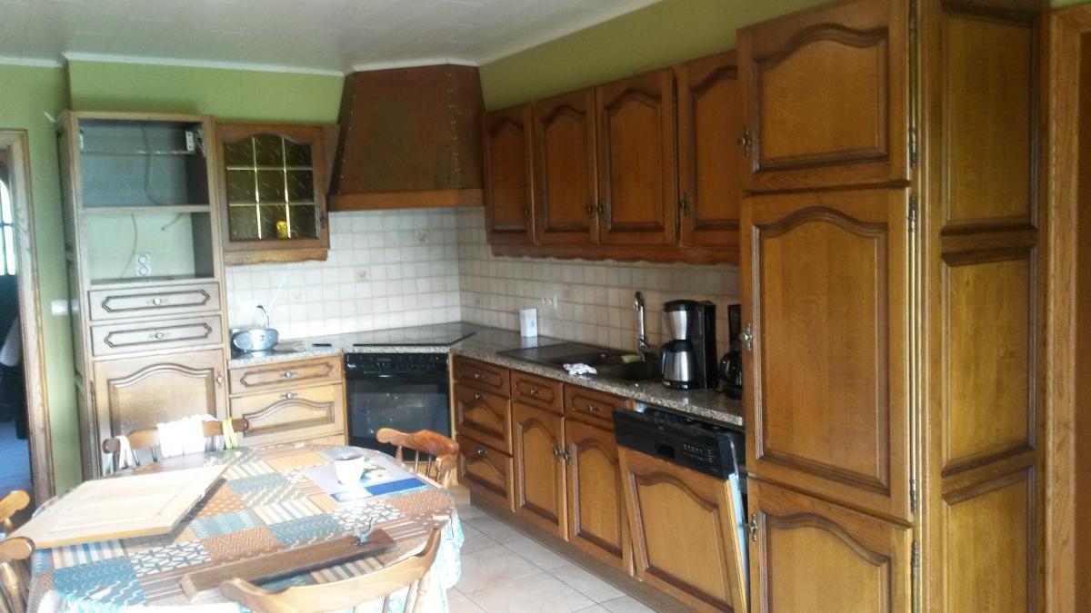 Eiken Keuken Vernissen : Keukenrenovatie te Wervik Meubelrenovatie