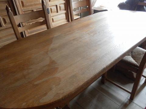 Houten Tafel Behandelen : Eiken tafelblad behandelen great eikenhouten tafel xcm with eiken