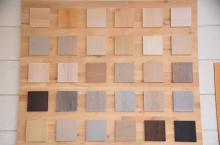 renovatie eiken meubelen - zandstralen, décaperen, logen - beitsen, vernissen - parketolie