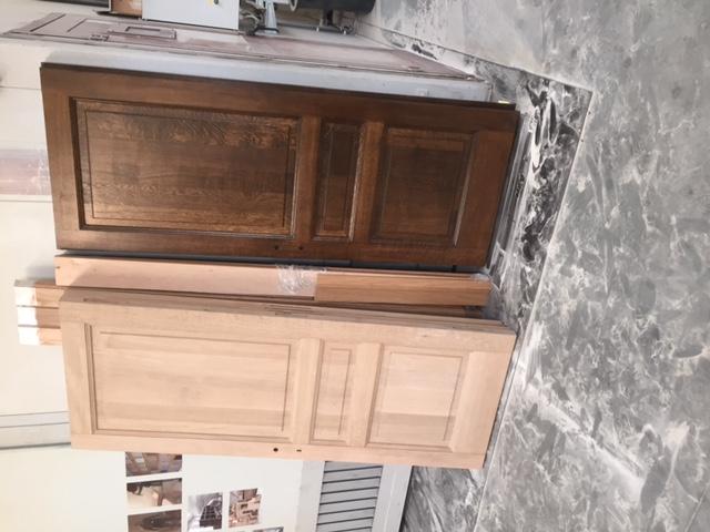 Eiken Keuken Zandstralen : Hiernaast ziet u deuren die we behandelden voor deze klant uit